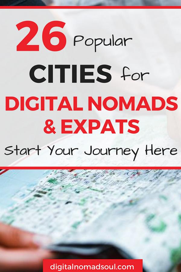 Digital Nomad Cities, Digital Nomad Countries, Remote Work, location-independent work 9