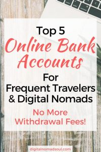 If you are a tourist, long-term traveler or digital nomad: Check out the different online banking solution you have and save a lot of fees and money.