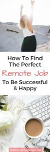 You want to be a digital nomad but have no idea what kind of work you could do? Check out this plan that helps you to find the perfect remote job for you.