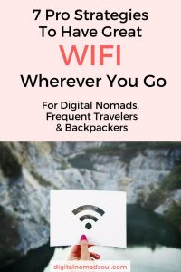 Find out how long-term travelers and digital nomads find internet abroad and which tricks you can use to amplify a weak internet connection.