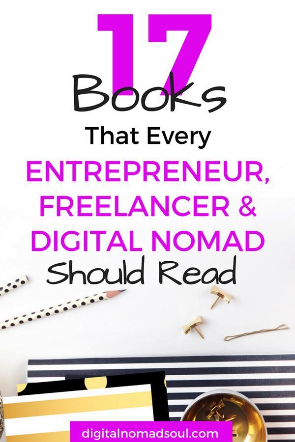 Digital Nomad Books, Entrepreneur, Freelancer, Remote Worker, Remote Job, Online Job, Information, Motivational Books, Inspiring Books 6