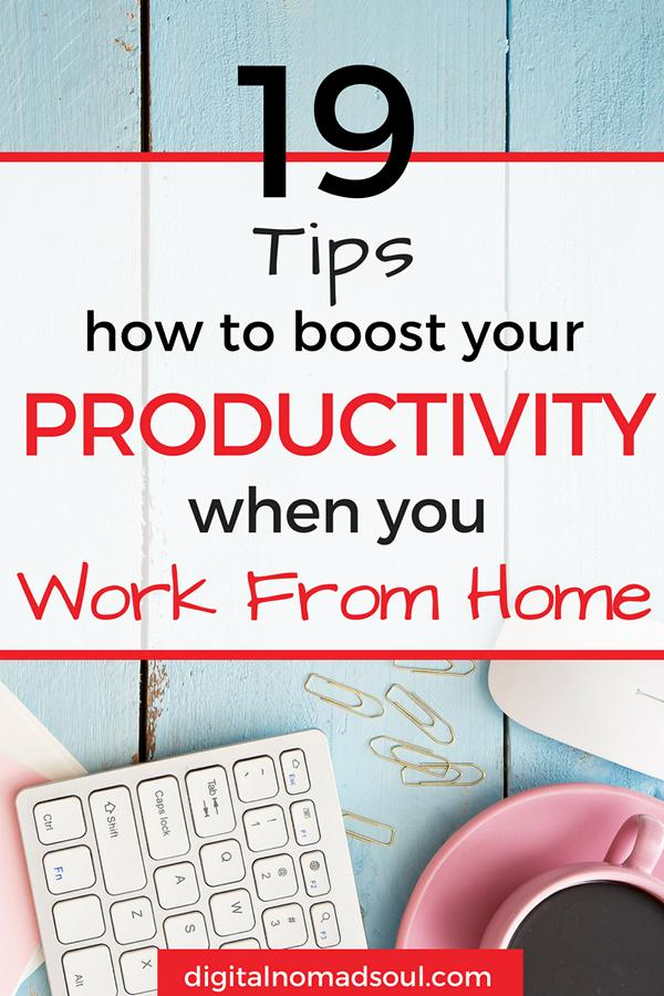 Productivity Tips, Work From Home, Digital Nomad, Remote Job, Make Money Online, Telecommute, Online Job, Remote Work, Home Office (4