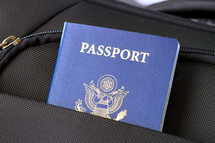 Passport in Carry-on luggage