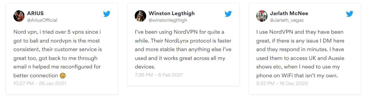 NordVPN Customer Experiences