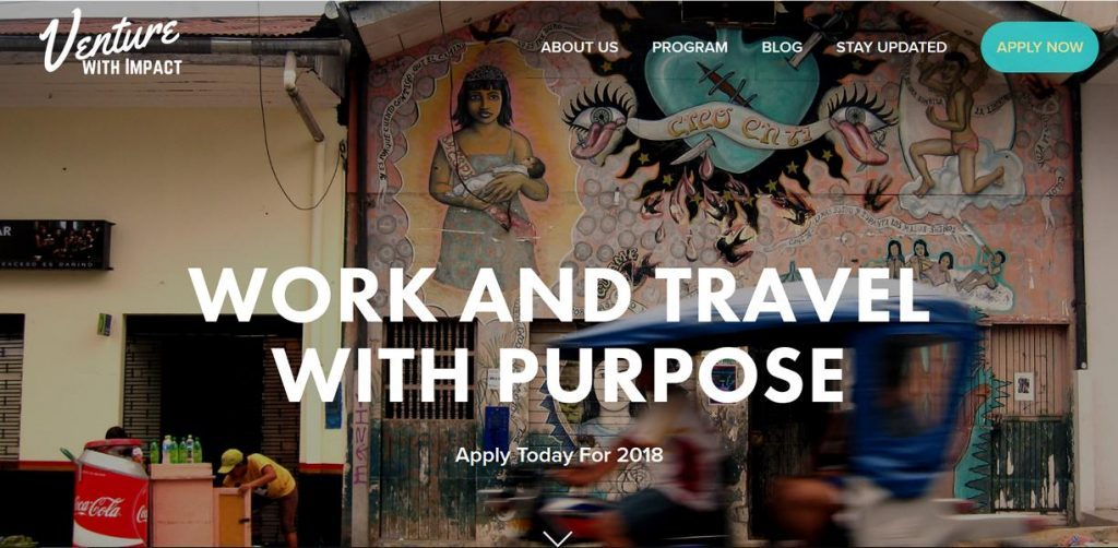 Working Remotely and Volunteer - Ann Davis, Venture With Impact, Digital Nomad