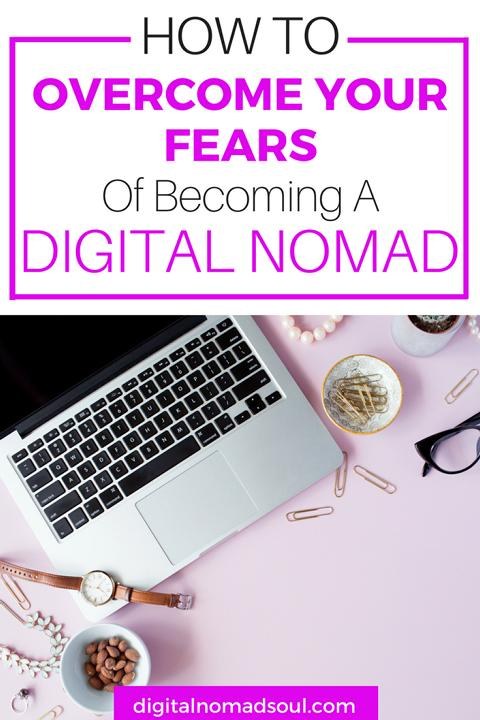 Fears of Becoming a Digital Nomad, Worry, Lifestyleac Change, Location-Independent, Remote Job