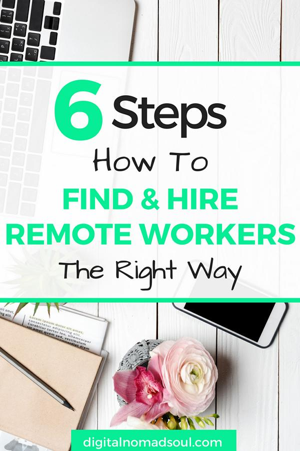 How to hire remote workers, telecommute jobs, Human Resource, Job Interviews, Online Jobs