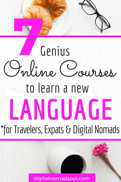 Best Online Language Courses to learn a foreign language
