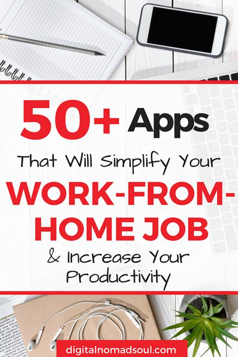 Remote Work Apps, Remote Work Tools, Work from Home, Digital Nomad, Online Job, Home Office, Distributed Team, Manage a remote team
