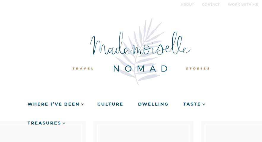 Female Digital Nomad Blogs - Mademoiselle Nomad