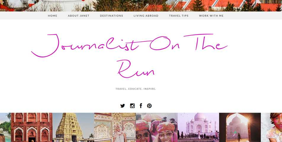 Female Digital Nomad Blogs - Journalist on the Run
