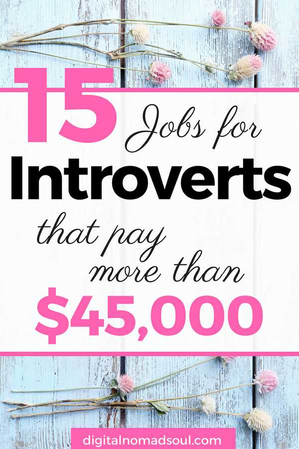 High-Paying Jobs for Introverts who want to Work from home