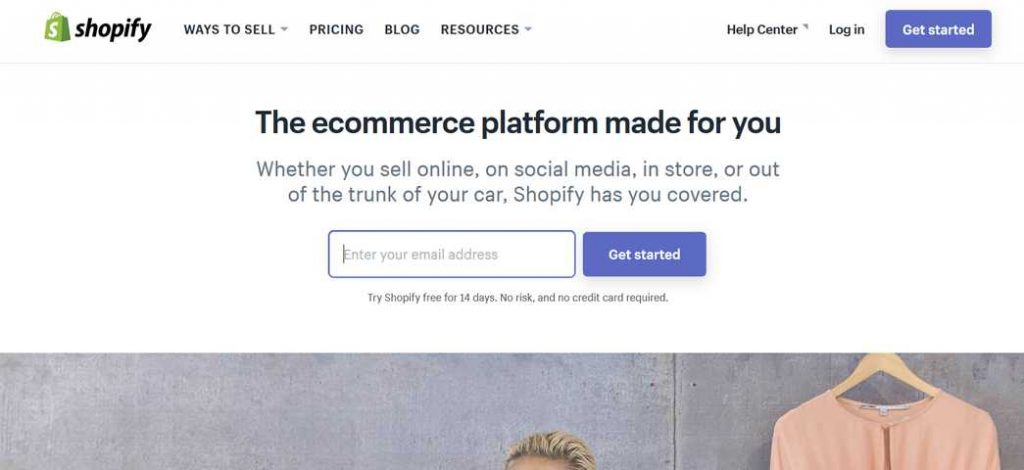 The ecommerce platform made for you