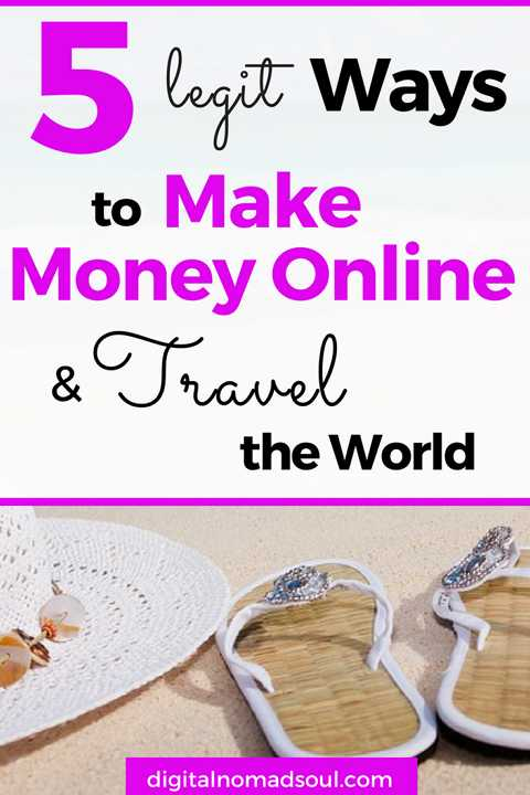 How To Make Money Online and Travel The World, Work From Home, Remote Job, Online Job, Make Money from Home, Digital Nomad, Location-Independent, Remote Work (1)
