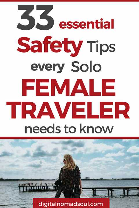 Travel Safety Tips for Solo Female Travelers