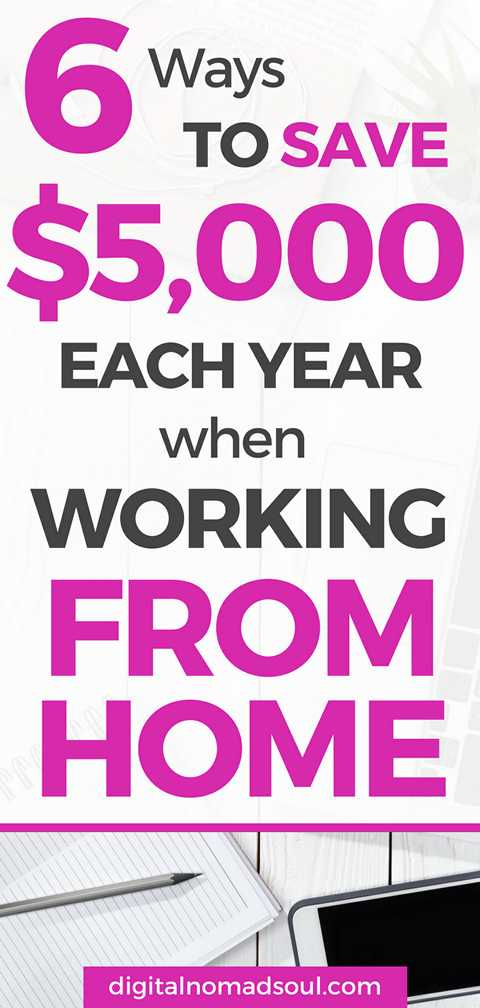 How to Save Money with a Work-From-Home JobHow to Save Money with a Work-From-Home Job