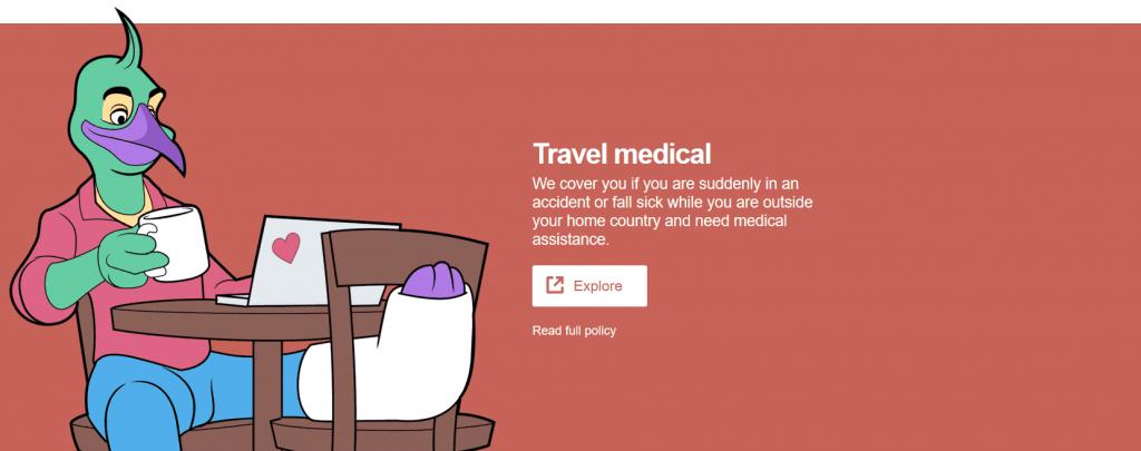 SafetyWing TWebsite travel medical