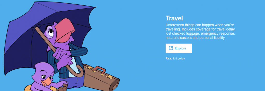 SafetyWing Website Travel Features