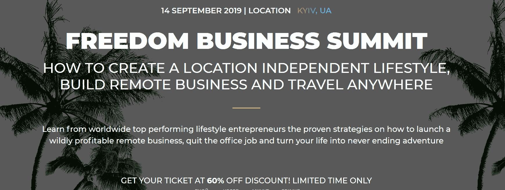 Freedom >Business Summit 2019