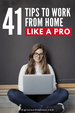 Pin - Work From Home Tips for Remote Workers