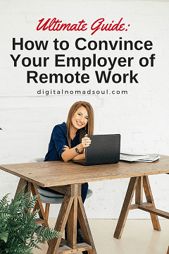 Pin - How to Ask Your Boss to Work Remotely - Guide