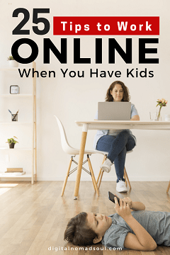 Pin - Online Job with Kids