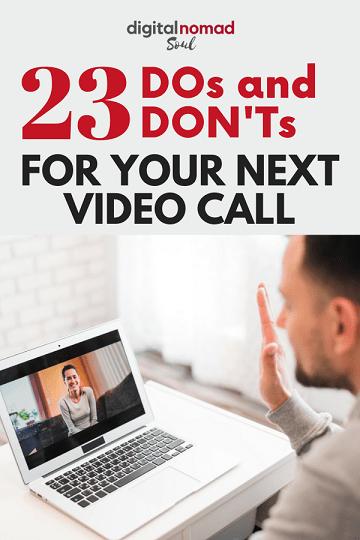 Pin: Video Calls Tips and Hacks
