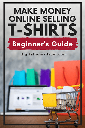 Pin: How to sell T-shirts online